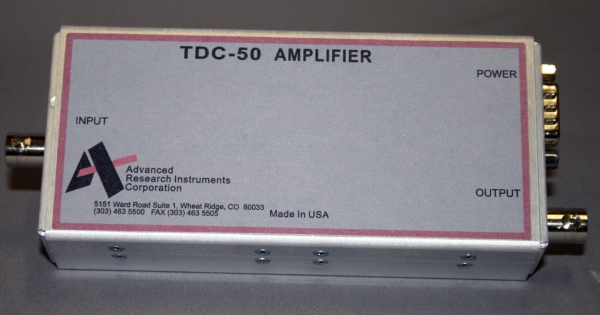 transimpedance amplifiers for PMTs and photo diodes